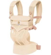 Ergobaby Ergobaby Babydraagzak Omni Air Mesh Natural Weave - ergonomische draagzak vanaf geboorte