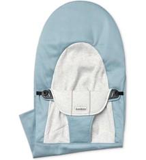 BABYBJÖRN BABYBJÖRN Stoffen Zitting Balance Soft Blauw Grijs Cotton Jersey