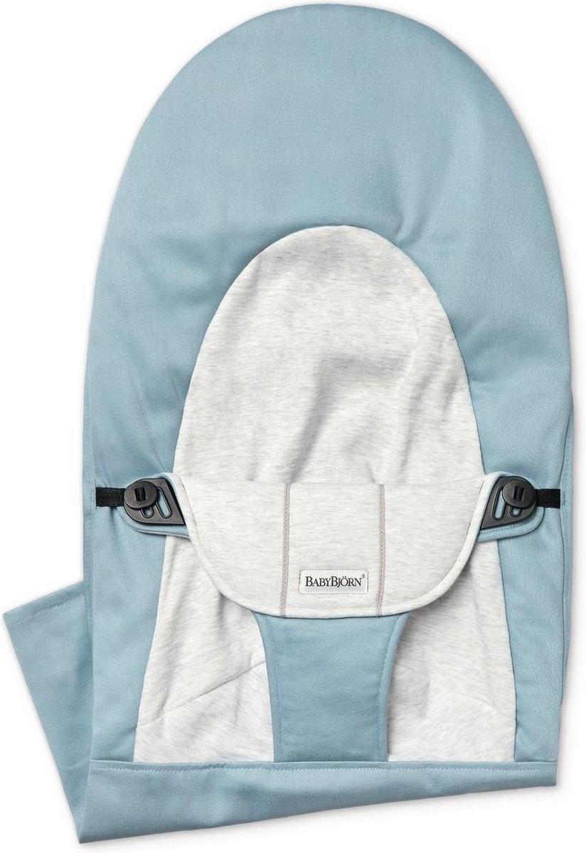 BABYBJÖRN Stoffen Zitting Balance Soft Blauw Grijs Cotton Jersey