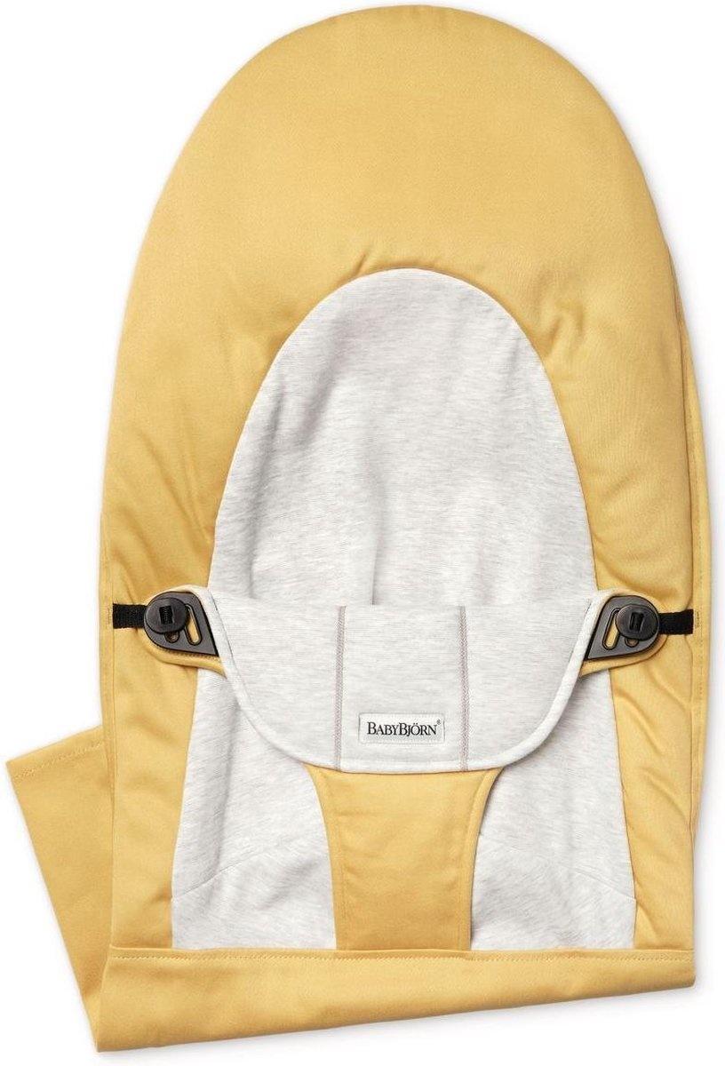 BABYBJÖRN Stoffen Zitting Balance Soft Geel Grijs Cotton Jersey
