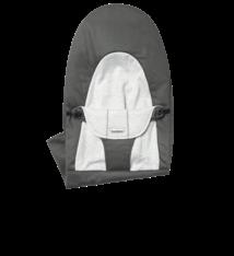 BABYBJÖRN BABYBJÖRN Stoffen Zitting Balance Soft Donkergrijs Grijs Cotton/Jersey