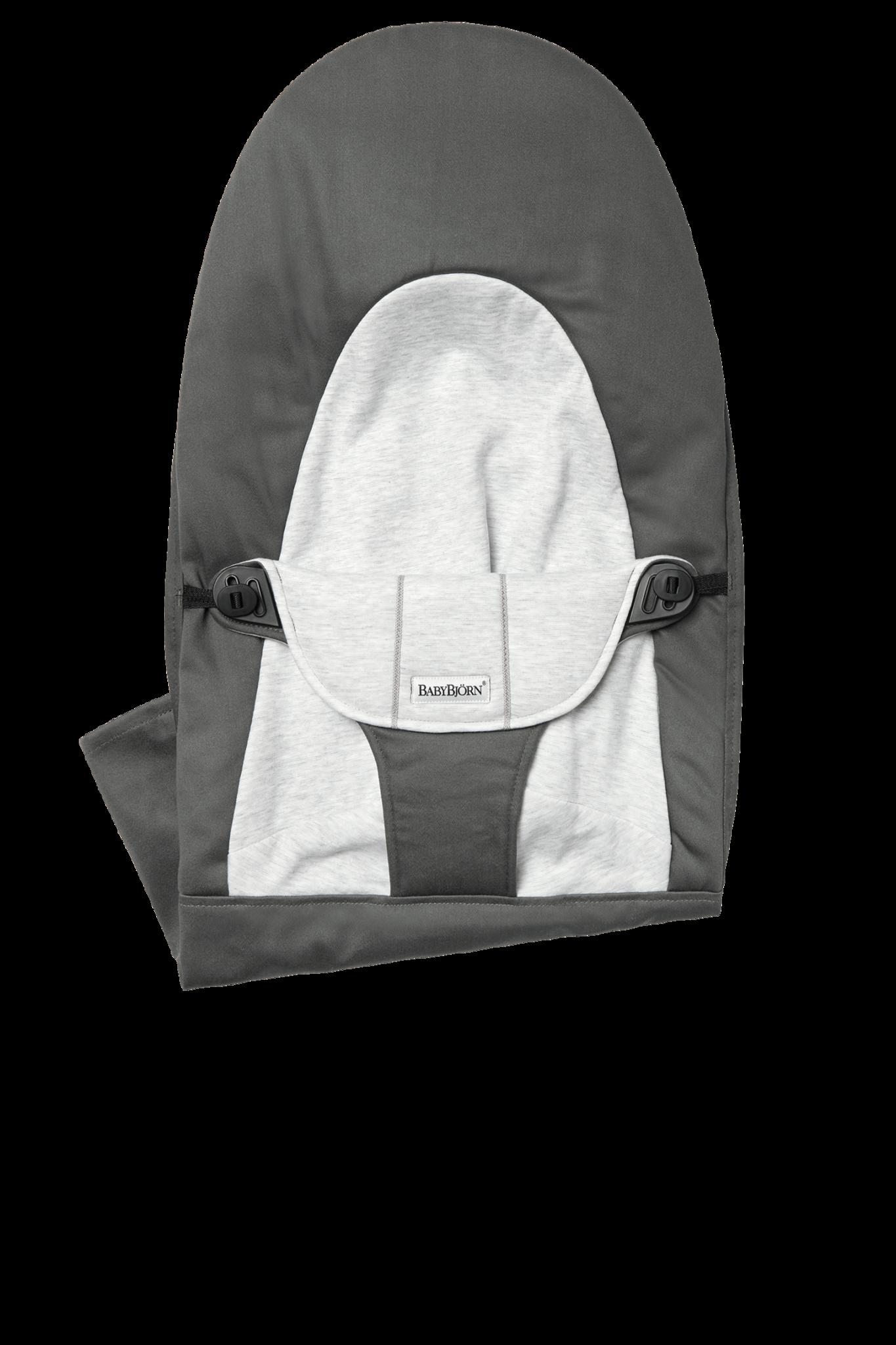 BABYBJÖRN Stoffen Zitting Balance Soft Donkergrijs Grijs Cotton/Jersey