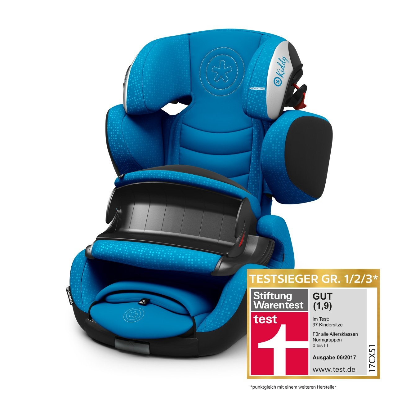 Kiddy Guardianfix 3 Sky Blue 2e kansje