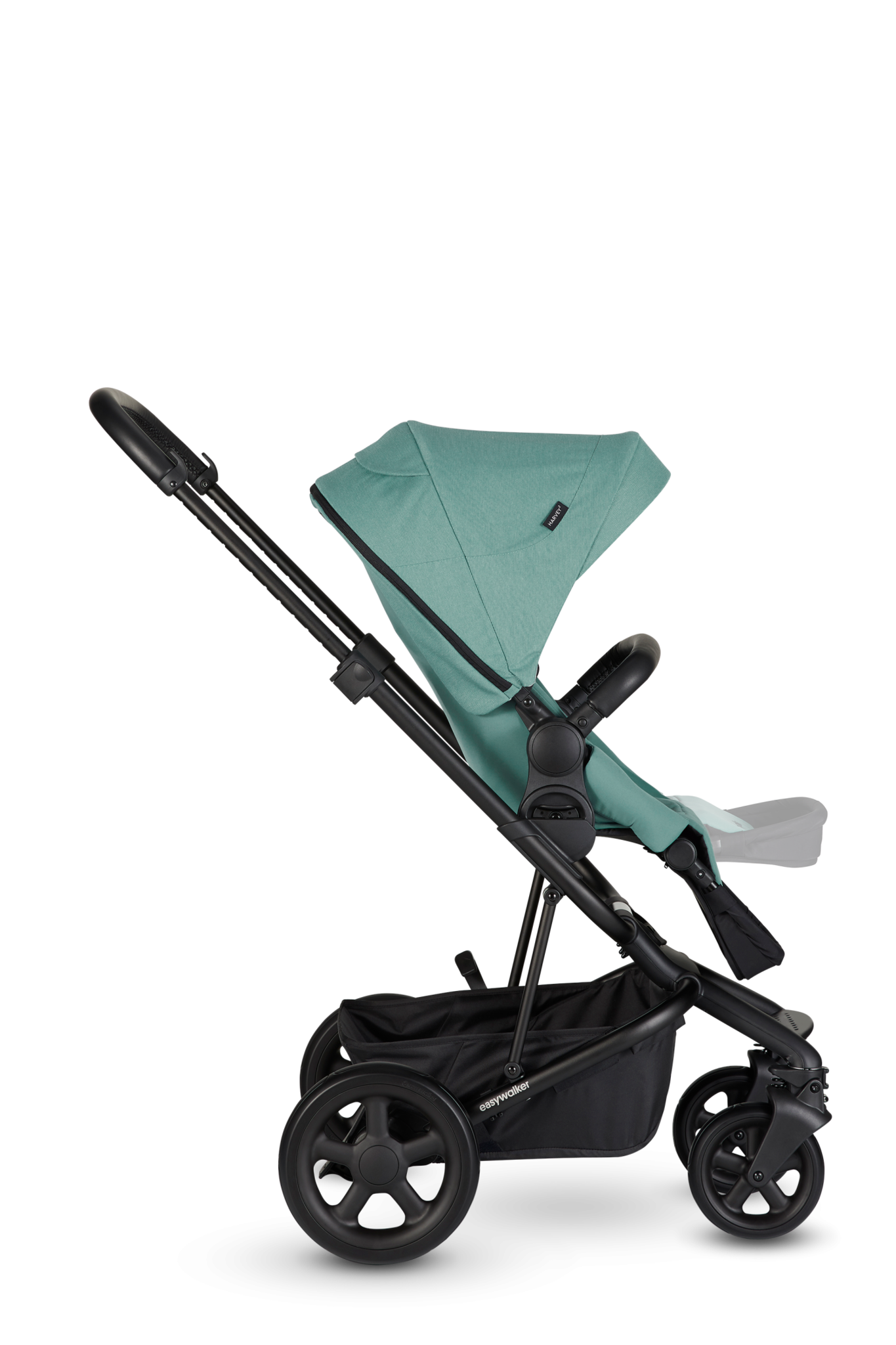 Easywalker Harvey² Kinderwagen + Reiswieg + Voetenzak + Autostoel-adapter + Hoogte-adapter Desert pink