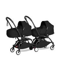 Babyzen Babyzen YOYO2 zwart frame met CONNECT compleet voor 2 newborns kleur zwart