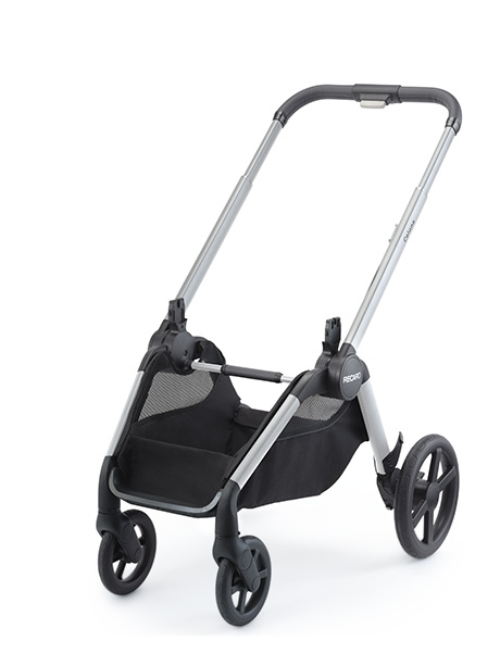 Recaro Recaro Celona Kinderwagen - Frame Aluminium Grey met Zitting en Reiswieg Prime Sky Blue
