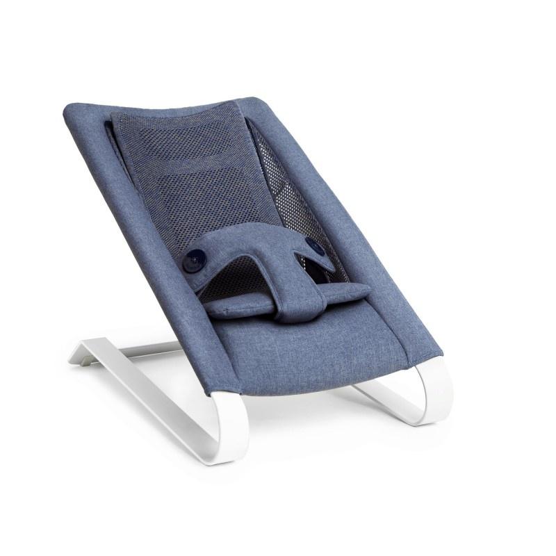 Bombol Wipstoeltje Bamboo 3DKnit Denim Blue