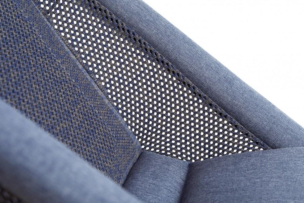 Bombol Bombol Wipstoeltje Bamboo 3DKnit Denim Blue