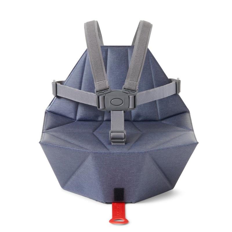 Bombol Stoelverhoger Pop-Up Booster Denim Blue