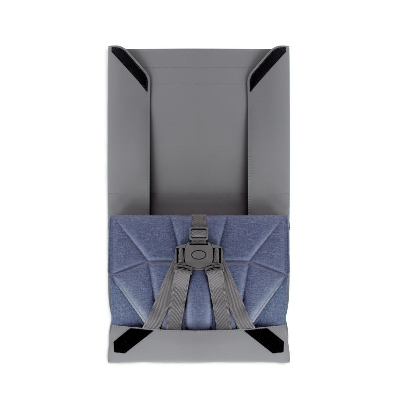 Bombol Bombol Stoelverhoger Pop-Up Booster Denim Blue