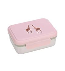 Lässig Lässig Lunchbox Stainless Steel Safari Giraffe
