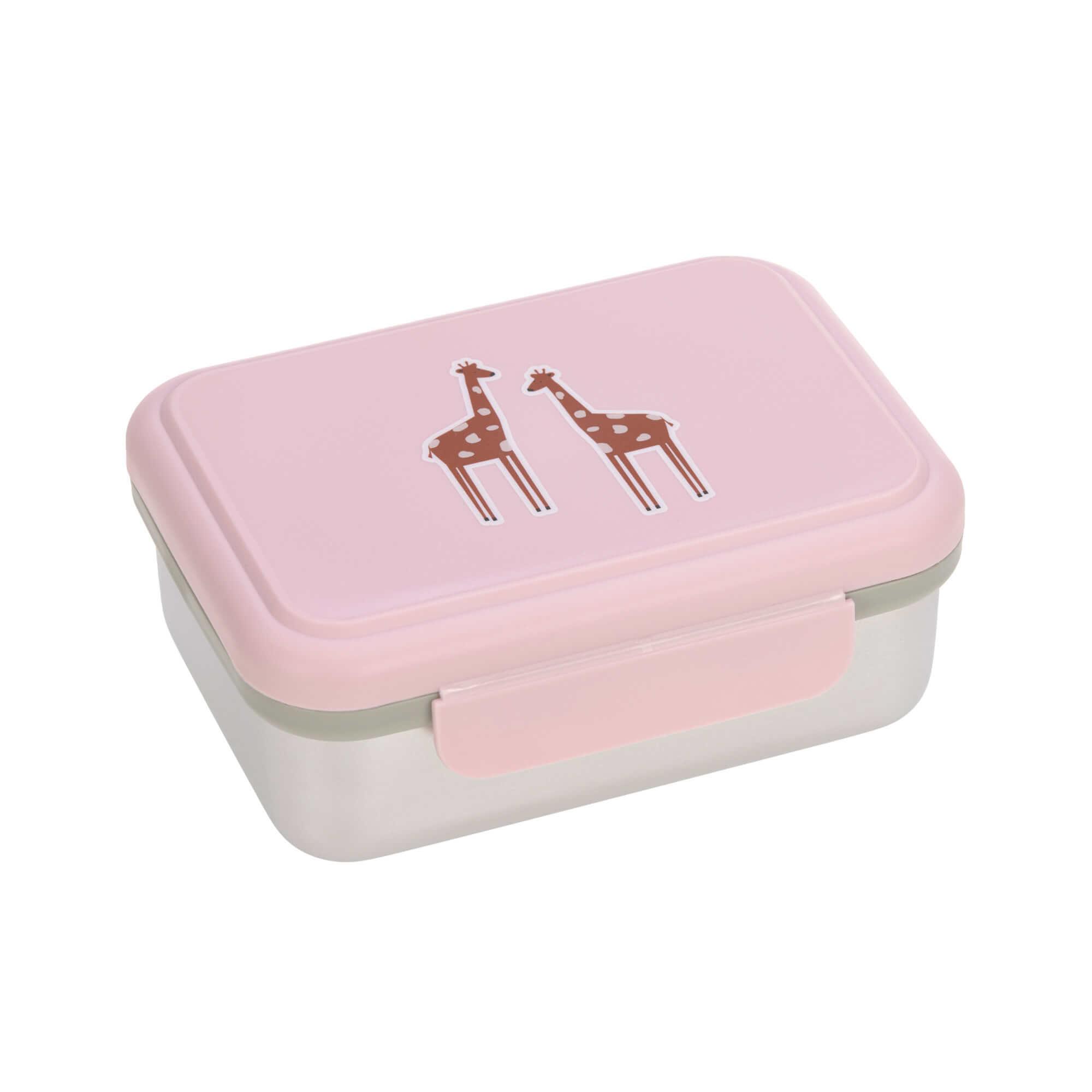 Lässig Lunchbox Stainless Steel Safari Giraffe