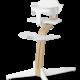 Nomi NOMI Hochstuhl Ideales Set ab 6 Monaten Basic Eiche weiß geölt und Stuhl weiß