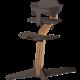 Nomi NOMI highchair complete set vanaf de geboorte Basis eiken nature oiled en stoel coffee