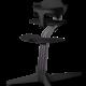 Nomi NOMI highchair complete set vanaf de geboorte Basis eiken zwart stained en stoel zwart