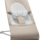 BABYBJÖRN BABYBJÖRN Wipstoeltje Balance Soft Lichtgrijs frame Beige-Grijs Cotton Jersey