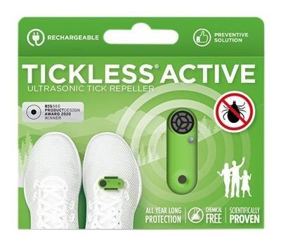 TickLess TICKLESS ACTIVE - Green oplaadbaar ( ultrasone teken verjager )
