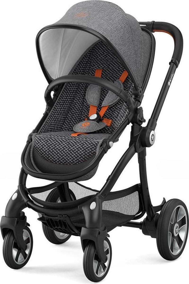 Kiddy Kinderwagen EVOSTAR 1 Retro Charcoal