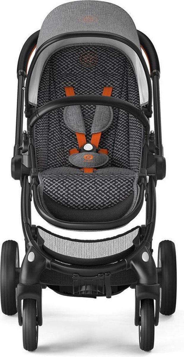 Kiddy Kiddy Kinderwagen EVOSTAR 1 Retro Charcoal
