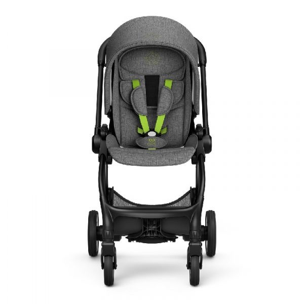 Kiddy Kiddy Kinderwagen EVOSTAR LIGHT 1 Grey Melange - Super Green