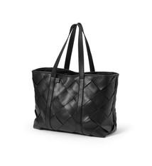 Elodie Details Elodie Luiertas Tote Braided Leather Black
