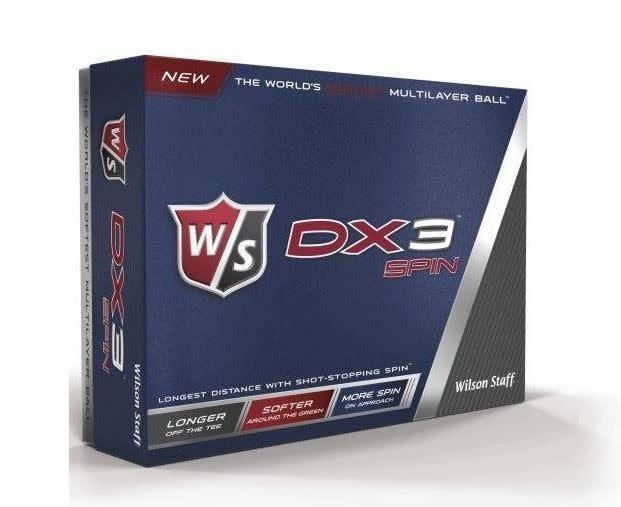 WILSON W/S DX3 SPIN WHITE