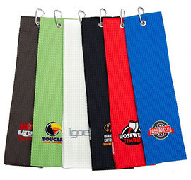 SPORTS Handdoek tri-fold wafel