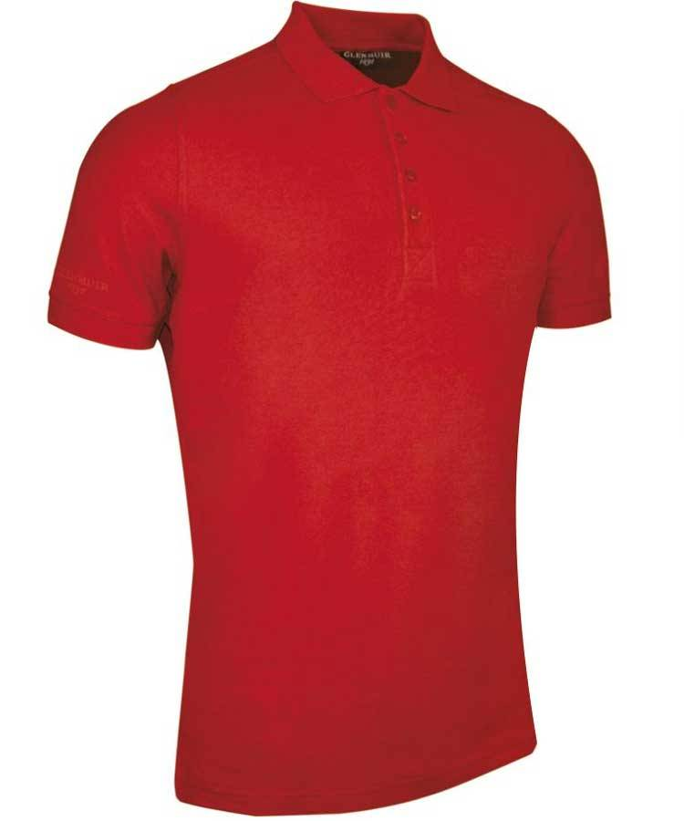 GLENMUIR Glenmuir Mens Performance pique polo - Kinloch