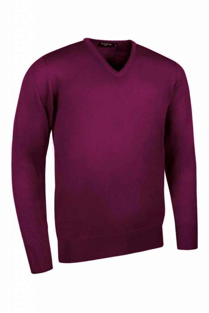 GLENMUIR Glenmuir V Neck Merino Sweater - Wilkie