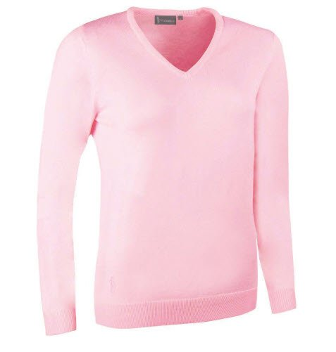 GLENMUIR Glenmuir V Neck Merino Sweater - Maya