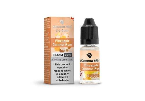 Diamond Mist Nicsalt - Pineapple Coconunt Rum