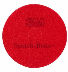 3Mpad 3M Pad Scotch-Brite Rood