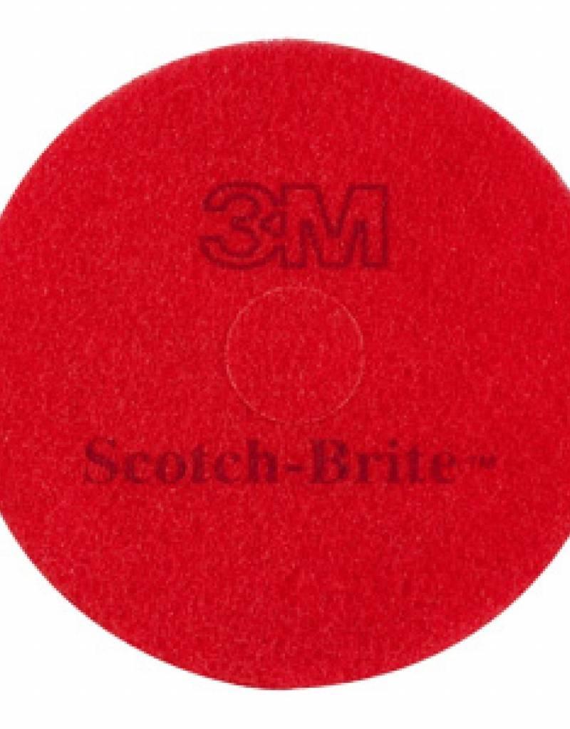 3Mpad 3M Pad Scotch-Brite 16 rood