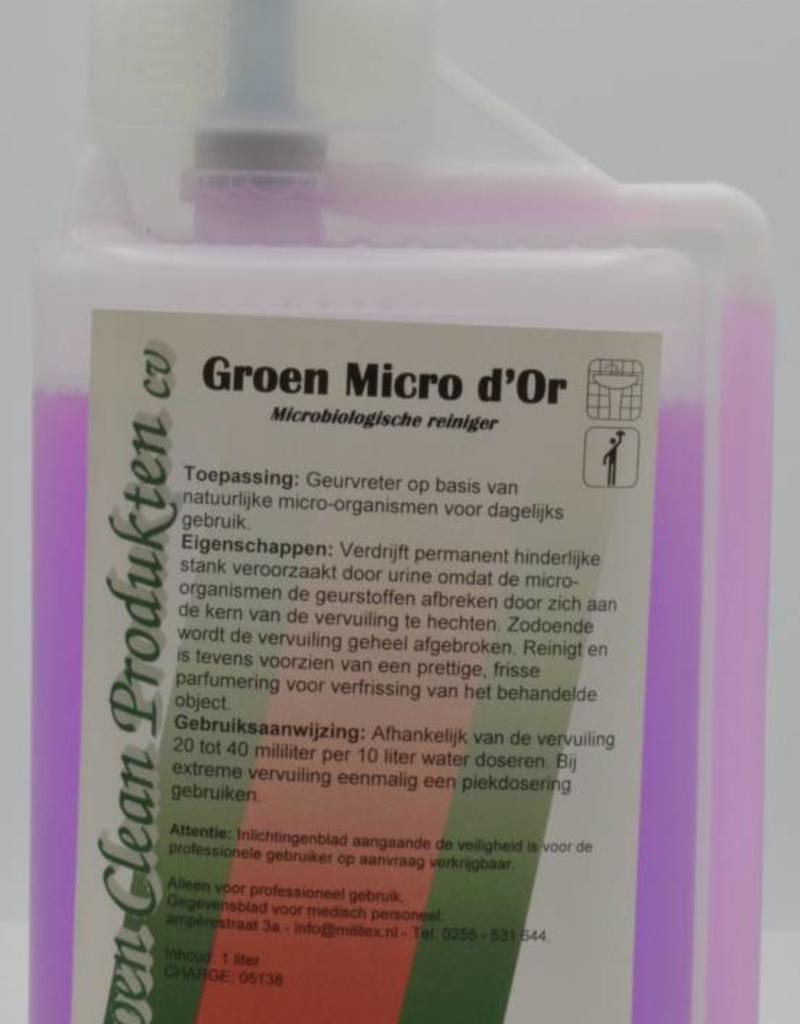 Groen Clean Groen Micro d 'Or microbiologische reiniger