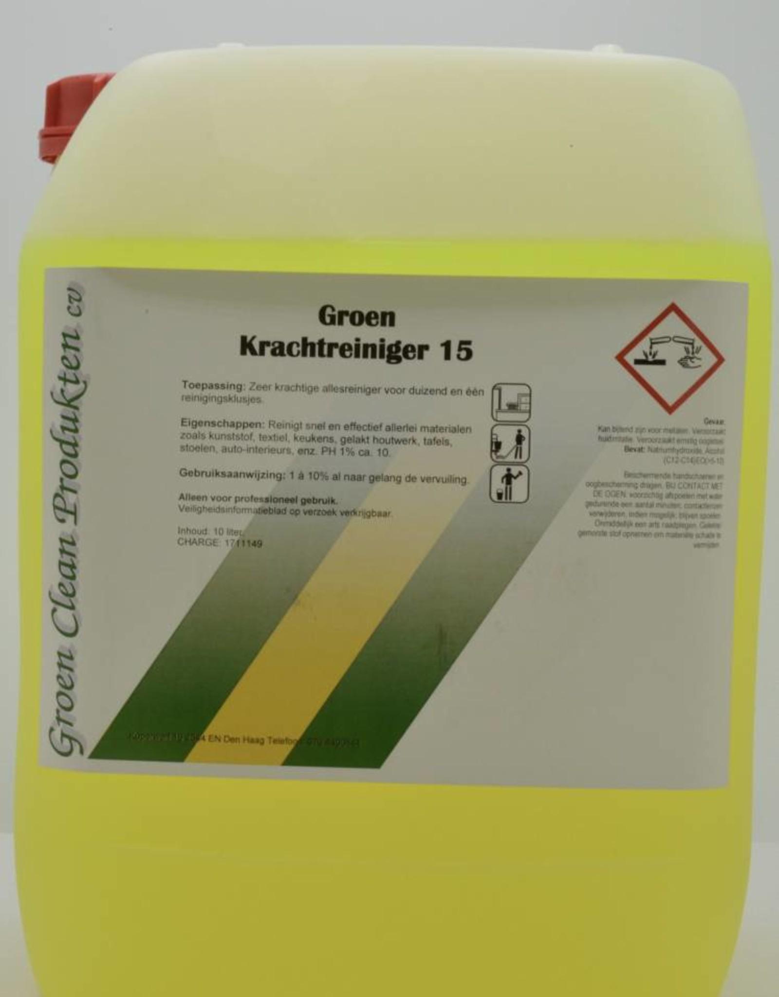 Groen Clean Krachtreiniger 15