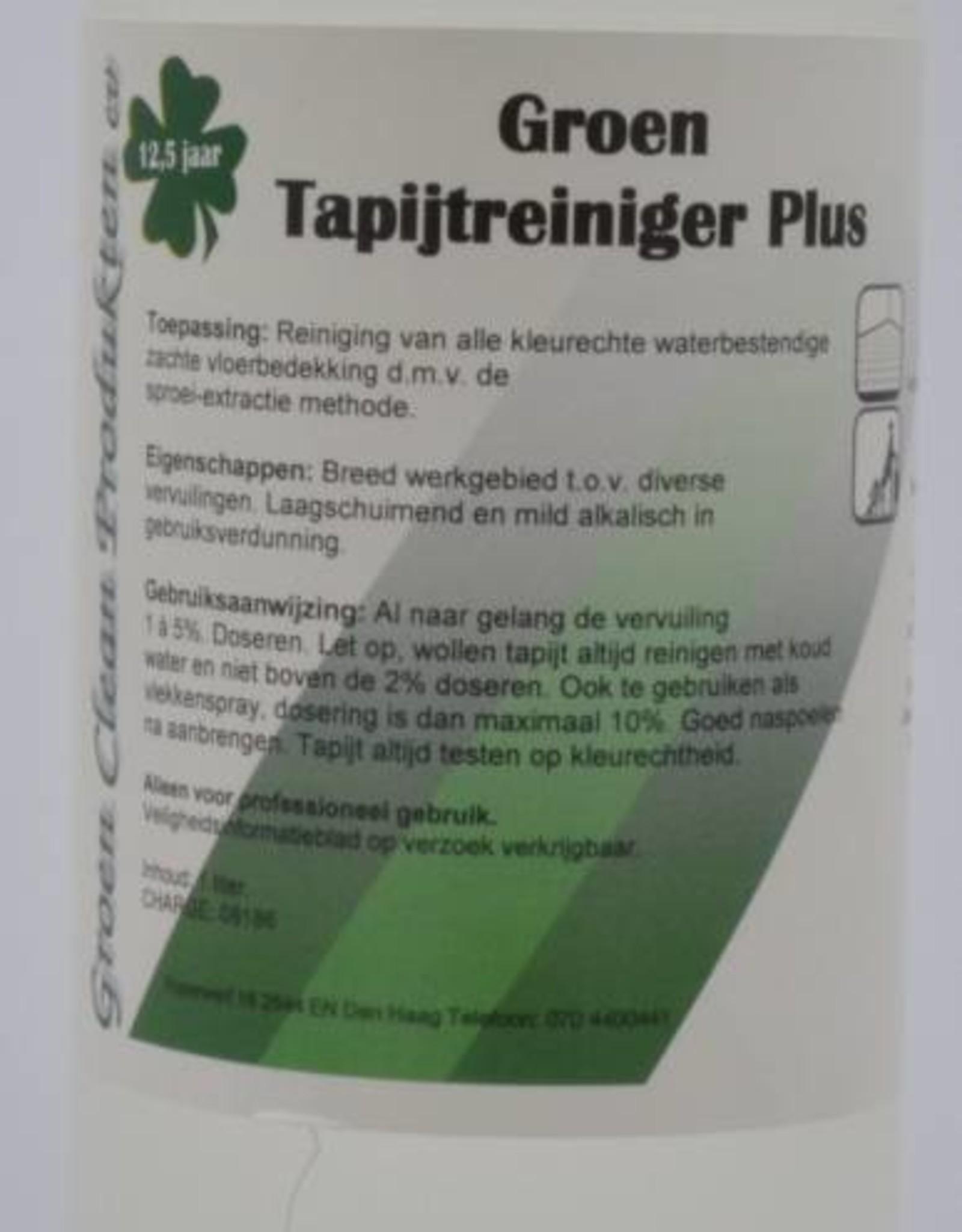Groen Clean Groen Tapijtreiniger Plus
