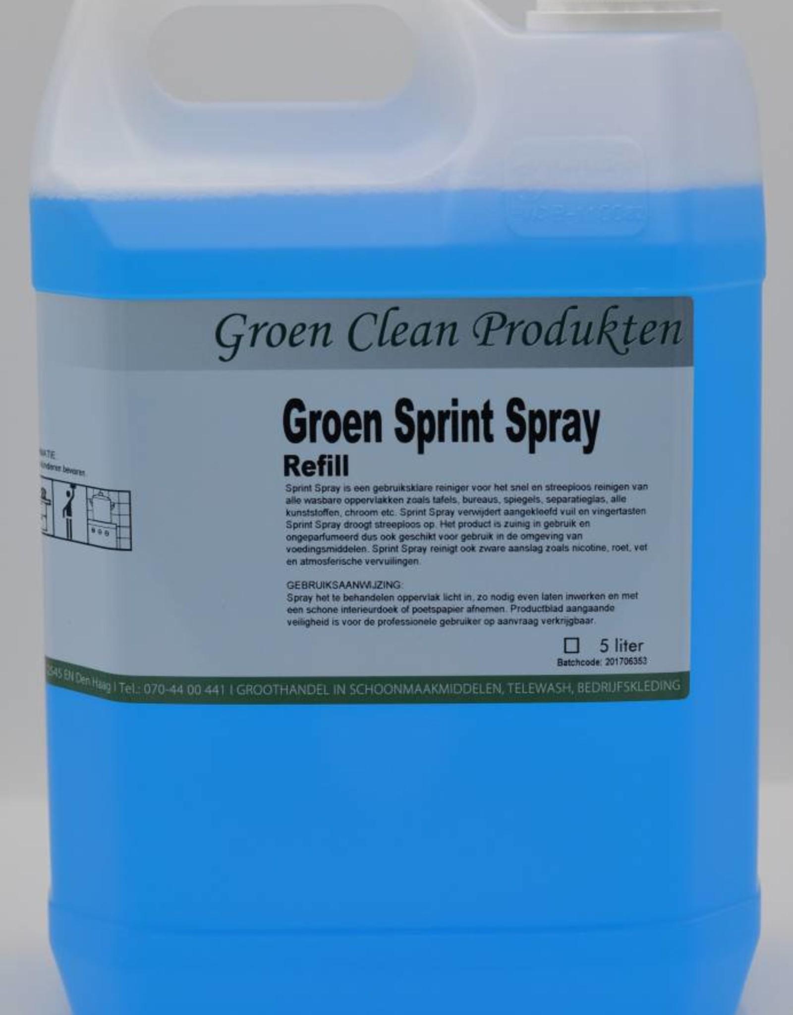 Groen Clean Groen Sprint Spray, 5ltr.