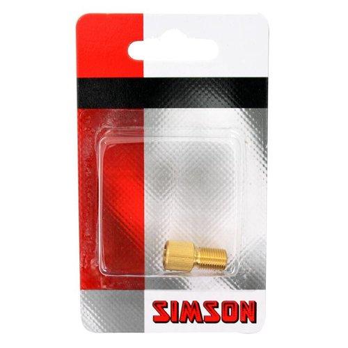Simson Simson verloopnippel fiets/auto