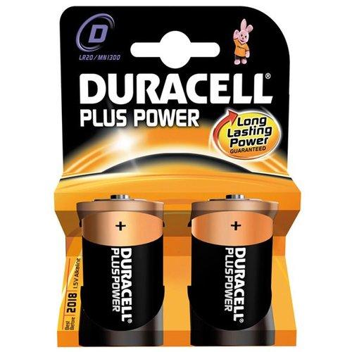 Duracell batterij plus power LR20