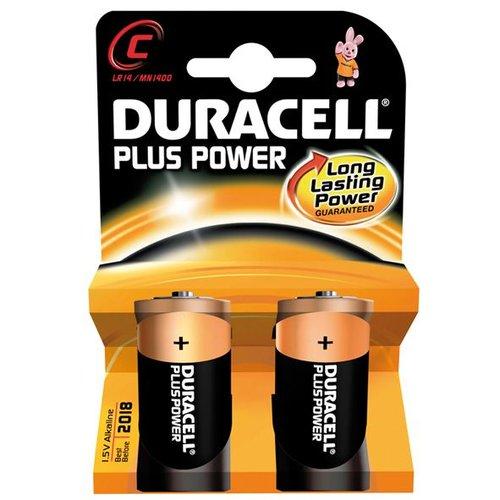 Duracell batterij plus power LR14