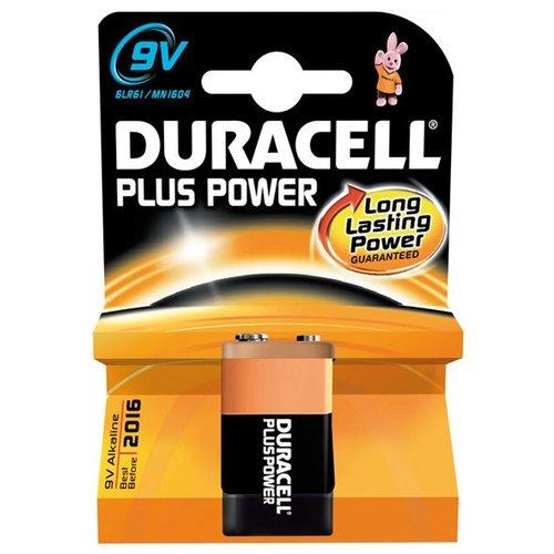 Duracel batterij plus power 9volt