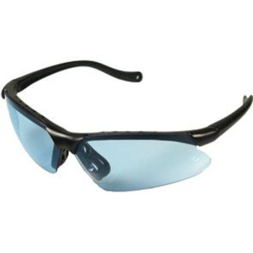 Elite Elite racebril met tas blauw/smoke/blank