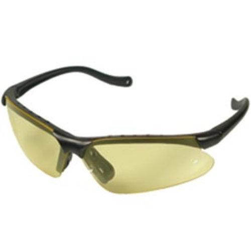 Elite Elite racebril met tas geel/smoke/blank