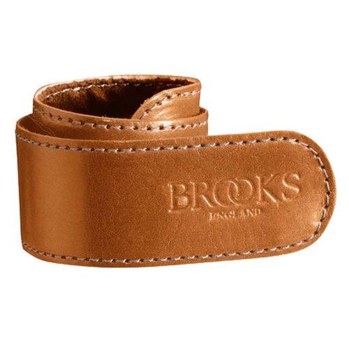 Brooks Brooks broekklem leer honing