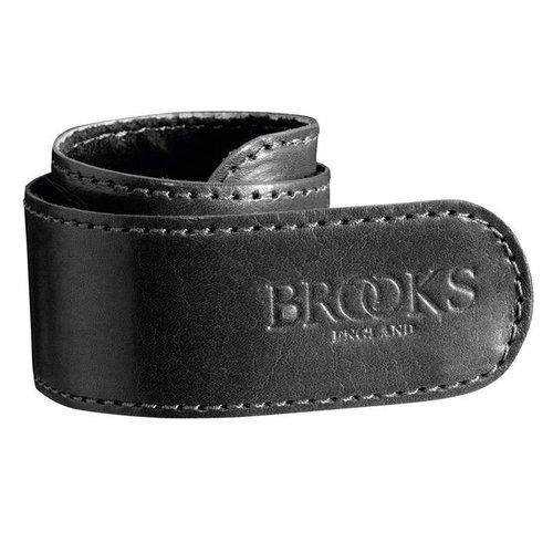 Brooks Brooks broekklem leer zwart