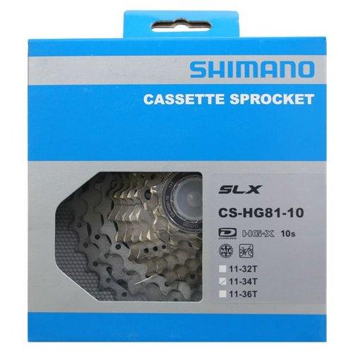 Shimano Shimano cassette 10v 11/34 HG81