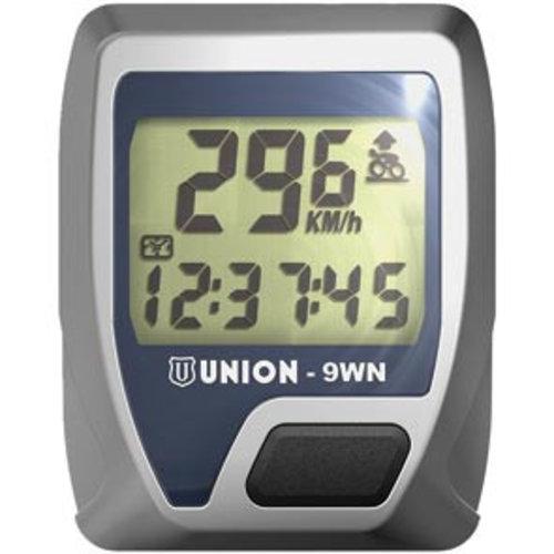 Union  Union fietscomputer 9f snoerloos