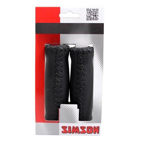 Simson Simson handvat leder zwart