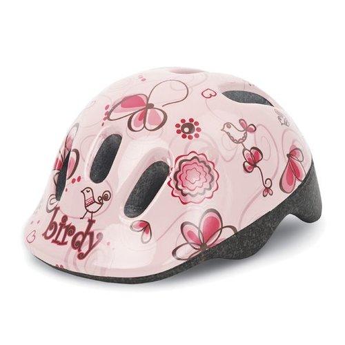 Polisport helm Birdy  XXS creme/roze