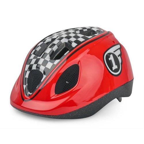 Polisport helm Race XS rood/zwart